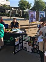 Girl Scout Booth